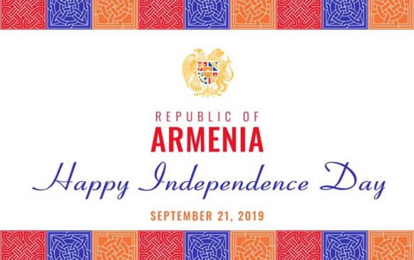 Հայաստանի Հանրապետության անկախության 28-րդ տարեդարձին նվիրված պաշտոնական ընդունելություն Բուխարեստում