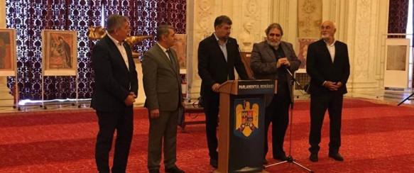 Ռումինիայում Հայոց լեզվի, այբուբենի և մշակույթի օր հռչակելուն նվիրված ցուցահանդեսի բացում
