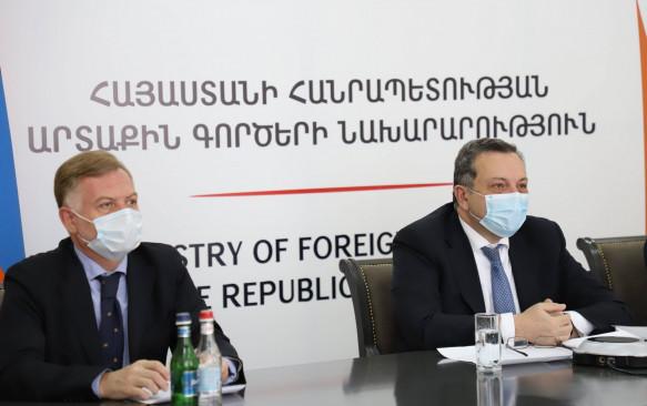 Քաղաքական խորհրդատվություններ Հայաստանի և Ռումինիայի արտաքին գործերի նախարարությունների միջև
