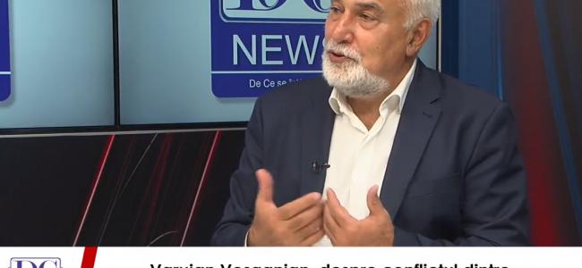 Ռումինիայի Հայոց Միության նախագահ, պատգամավոր Վարուժան Ոսկանյանի վիդեո հարցազրույցը ռումինական www.dcnews.ro կայքին
