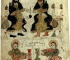 Fig. 19. Evanghelie , mânàstirea Manuk Surp Nsan, 1386.