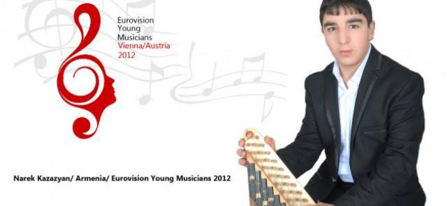 Armenia debutează în Concursul Eurovision de Tineri Muzicieni
