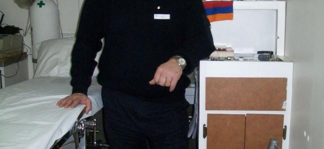 Un armean în Antarctica