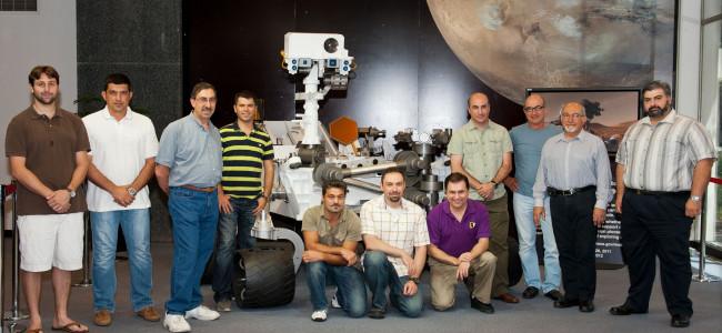 """Armenii  implicați în proiectul  """"Curiosity"""""""