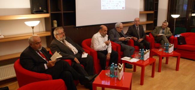 """Lansarea cărții  """"Lumea homerică"""" de Aram Frenkian  la Centrul Cultural Armean"""