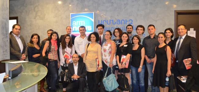 Cu AGBU prin Erevan