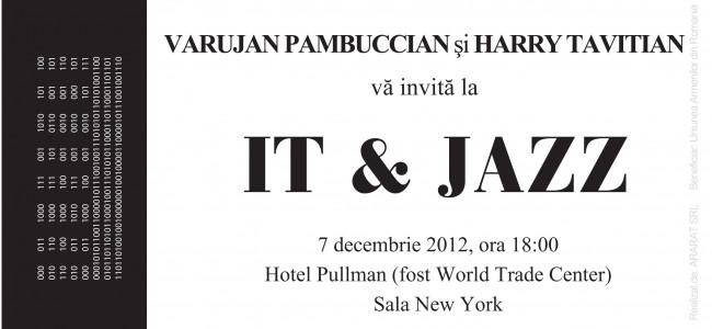 IT & JAZZ  la Cluj