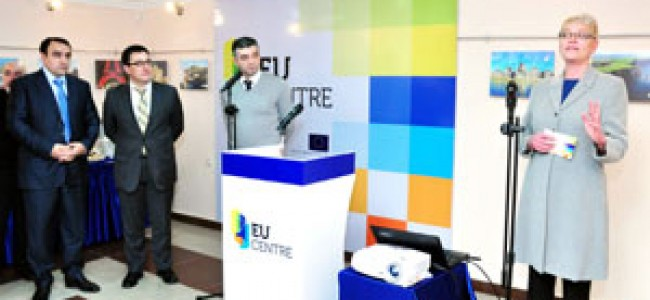 La Erevan s-a deschis Centrul de Informare al U.E.