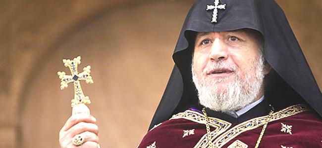 Reacția Catolicosului Karekin al II lea  după                                                                                         decizia președintelui Recep Tayyip Erdogan                                                                                  privind transformarea în moschee a Basilicii Sfânta Sofia