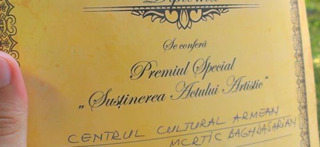 "Concursul Național Interetnic "" Friends forever """