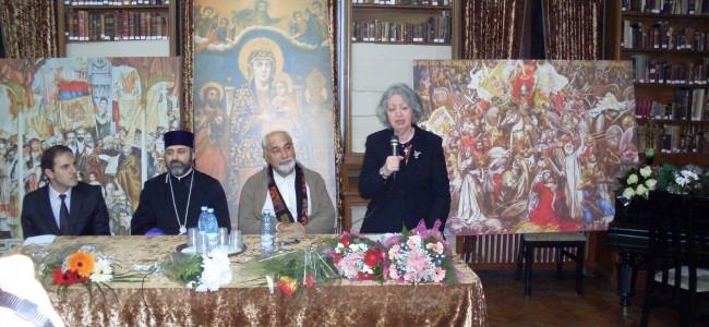 Șase decenii dedicate păstrării identității armene. Aniversarea ziaristei Madeleine Karacașian