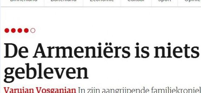 Cotidianul olandez, NRC Handelsblad scrie despre Cartea șoaptelor