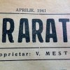 ARARAT ACUM 75 DE ANI – APRILIE 1941