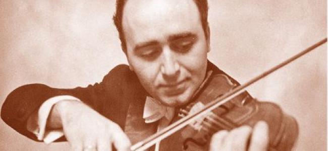 CALENDAR / Pe 7 ianuarie 1936 s-a născut violonistul  Varujan Cozighian