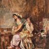 """Tabloul """"Orientală"""", de Theodor Aman, estimat la 160.000 de euro, va fi pus în vânzare la Artmark"""