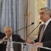 PREȘEDINTELE SERJ SARGSYAN S-A ÎNTÎLNIT CU REPREZENTANȚII COMUNITĂȚILOR ARMENE DIN EUROPA