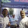 FOTO / Paul Agopian ( bucătărie armenească) și Ciprian Zobuian ( artisan patissier-chocolatier ) la Festival