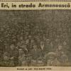 FOTO DOCUMENT / Eri, în Strada Armenească