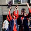 Dansatorii armeni au cucerit şi cetatea Sighişoarei