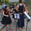 Tînăra violonistă Asya Anisimova a participat la cursurile organizate de Academia Internațională de Muzică din Spania