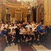 FOTO / Jucătorii echipei naționale de fotbal a Armeniei au vizitat Catedrala Armeană din București