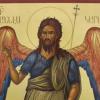 CREDINȚĂ / Naşterea Sf. Ioan Botezătorul (15 ianuarie 2018)