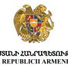 MESAJ DE CONDOLEANȚE DIN PARTEA AMBASADEI REPUBLICII ARMENIA ÎN ROMÂNIA