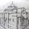 PATRIMONIU /   Catedrala  Sfântul Ioan Botezătorul din Turcia reconstituită în desene