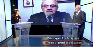 VIDEO/ Ara Echighian și Varujan Vosganian în dialog pentru TVRi