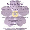 CLUJ / Recital de duduk cu ocazia Comemorării Genocidului Armean  din 1915