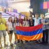 CLUJ / Echipa Armeniei medaliată la Olimpiada Internațională de matematică