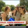"""PROTV /    Bătaie cu apă la Festivalul """"Strada Armenească"""", din Capitală. """"Tradiție veche, de când eram păgâni"""""""