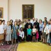 CATOLICOSUL TUTUROR ARMENILOR I-A PRIMIT PE PELERINII ARMENI DIN ROMÂNIA