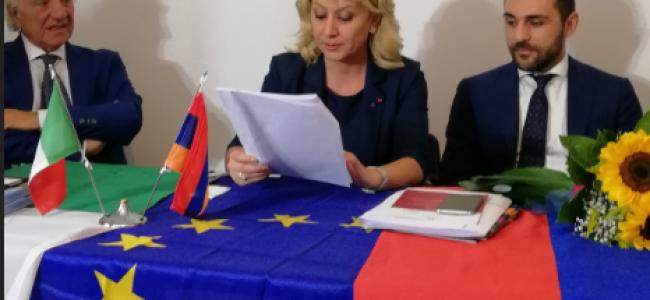BARI – ITALIA / Vizita E. S. Victoria Bagdassarian, ambasador al Armeniei, în Puglia