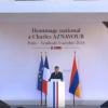 VIDEO / Președintele Franței Emmanuel Macron – Omagiu pentru Charles Aznavour