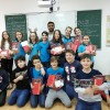 Oră de armeană cu elevii din Școala Gimnazială Româno-Finlandeză