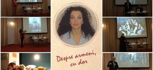 """Vocile memoriei, într-o carte-document cu valoare sentimentală, """"Despre armeni, cu dor"""", de Andreea Pavel"""