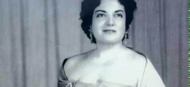 """CALENDAR / Pe 14 decembrie 1924 s-a născut soprana Gohar Gasparian supranumită """"Privighetoarea armeană"""""""