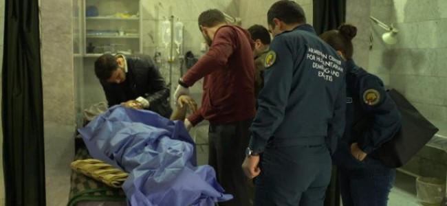 Medicii militari armeni în activități umanitare în Alep (Siria)