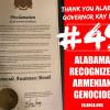 S.U.A. / Alabama a devenit, oficial, cel de-al 49-lea stat care recunoaște Genocidul armean