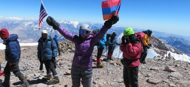 O armeancă pe Aconcagua