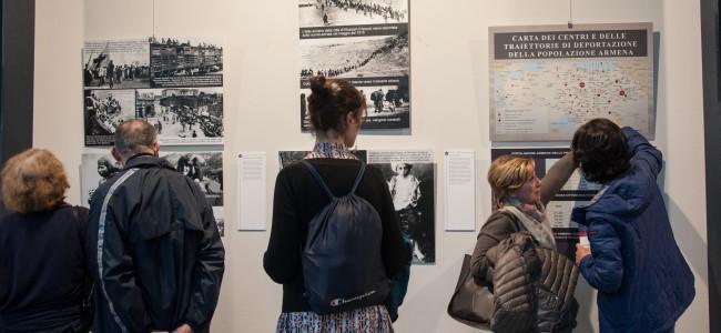 "PADOVA / Vernisajul  Expoziției  "" Dincolo de suferința unui popor. Trasee în memoria unui Genocid"""