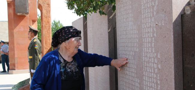 STEPANAKERT / Ziua martirilor patriei și a combatanților dispăruți în războiul de eliberare a Arțakhului