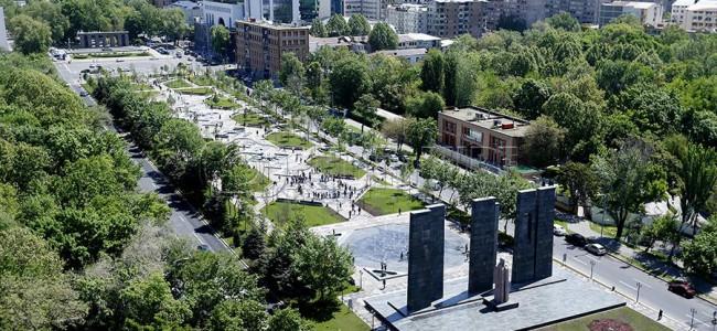 EREVAN / Un parc,  reamenajat în onoarea celor 2800 de ani de la fondarea orașului