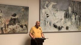 EREVAN /  La Institutul Muzeu al Genocidului Armean s-a deschis expoziția permanentă a pictorului Jean Jansem