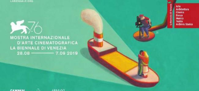 Avanpremieră la Festivalul Internaţional de Film de la Veneţia, a 76-a ediţie, 2019