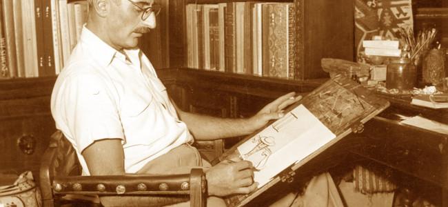 CALENDAR /  S-au împlinit 100 de ani de la nașterea  plasticianului HACIK (CIK) DAMADIAN  (6 august 1919)
