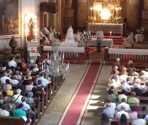 """Hramul Bisericii Armeneşti """"Sf. Elisabeta"""" din Dumbrăveni (Sibiu)"""