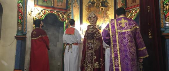 NEWSBUCOVINA.RO / Peste o mie de credincioși au participat la Hagigadar la Sf. Liturghie cu prilejul hramului mănăstirii