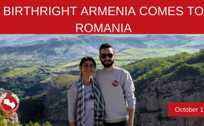 VOLUNTARIAT / Birthright Armenia vine în România